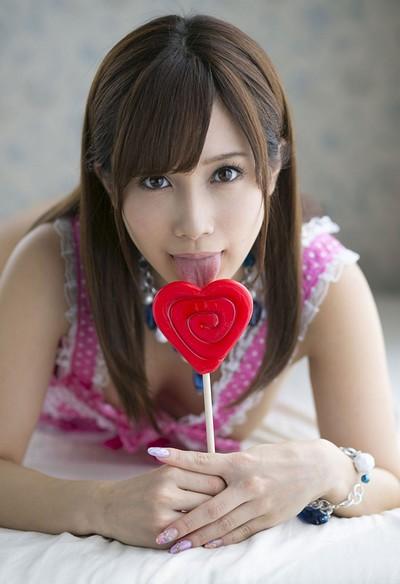 Minami Kojima in Girlfriend Material from All Gravure