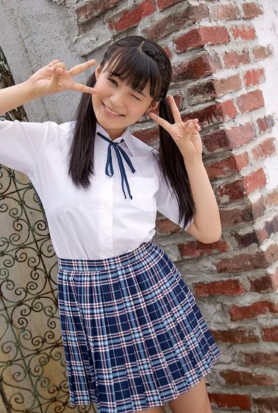 Mizuki Hoshina in Under The Pink from All Gravure