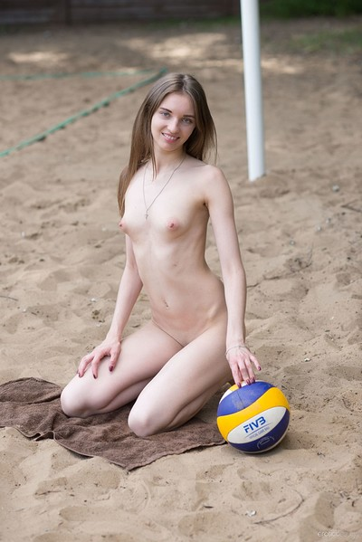 Vialika in Favorite Beach from Erotic Beauty