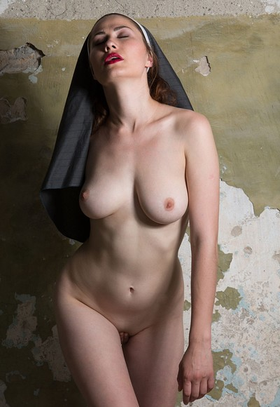 Judith Able in Playful nun from Stunning 18