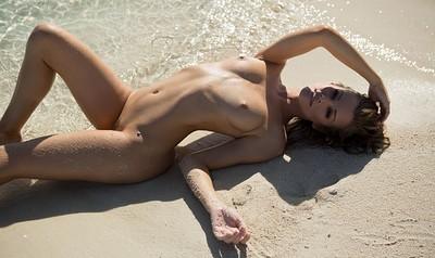Olivia Preston in Walking on Water from Playboy