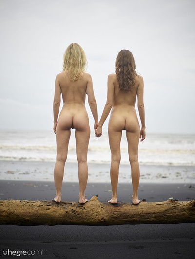Clover and Natalia A in Nude In Bali from Hegre Art