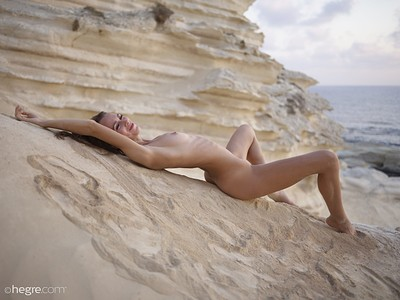 Alice in Desert Nudes from Hegre Art