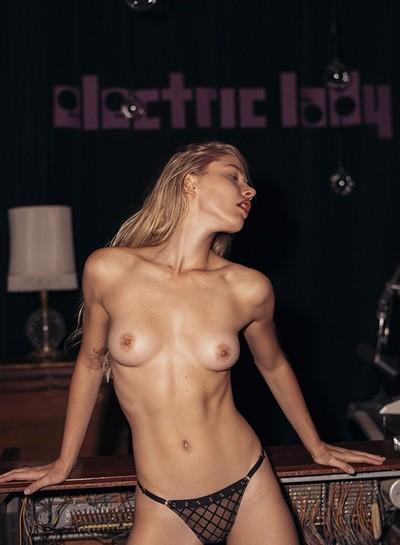 Daria Savishkina in Studio Spotlight from Playboy