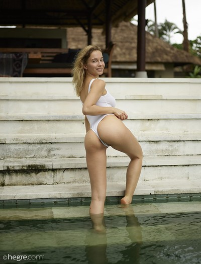 Natalia A in Surprise Swimsuit from Hegre Art