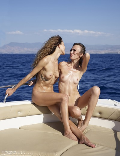 Alice and Rosa in Naked Cruise from Hegre Art