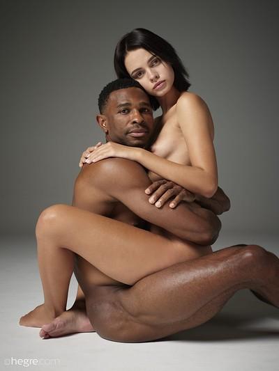 Ariel in Nude Couple from Hegre Art