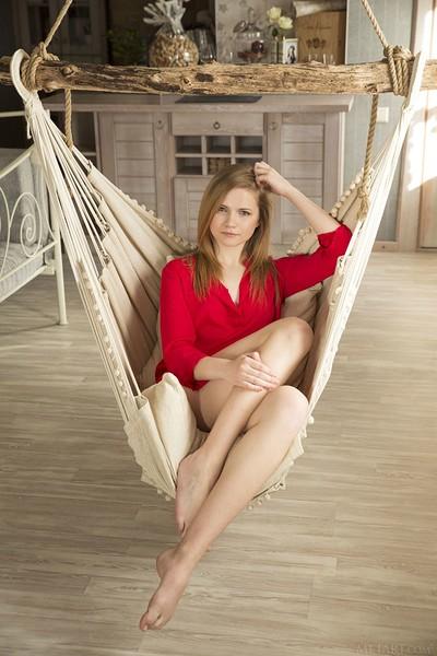 Isabela in Chair Swing from Met Art