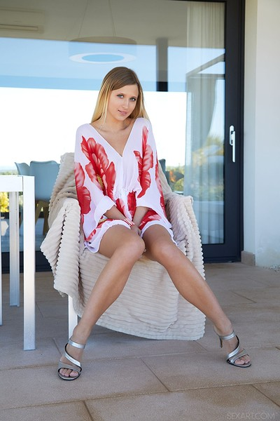 Lisa Dawn in Feeling Floral from Sex Art