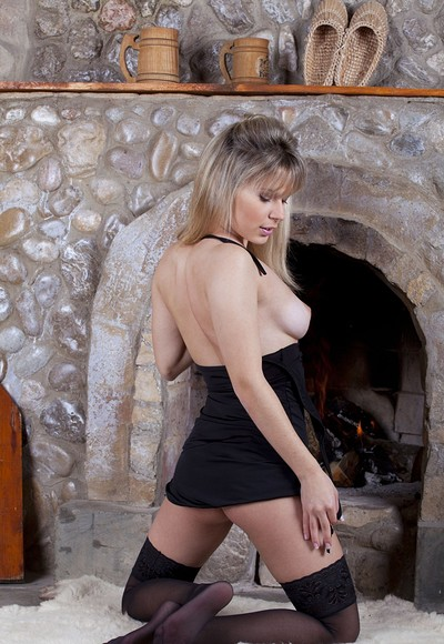 Antanta in By the fireplace from Stunning 18