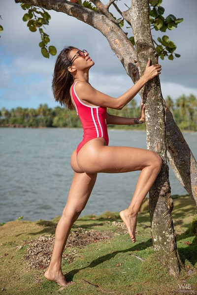 Abril in Baewatch from Watch 4 Beauty