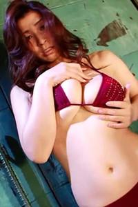 Flirty and playful all gravure model Mayuka Okada bares her smoking hot body in Hesitation Scene 2