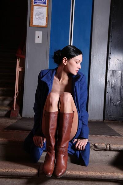 Loren in Elevator Next from Zemani