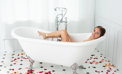 Oxana in Wild Rose 2 from Showy Beauty