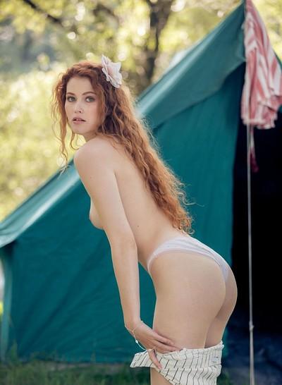Heidi Romanova in Perfect Solitude from Playboy