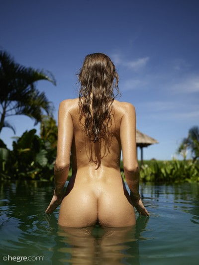 Clover in Bali Undressed from Hegre Art