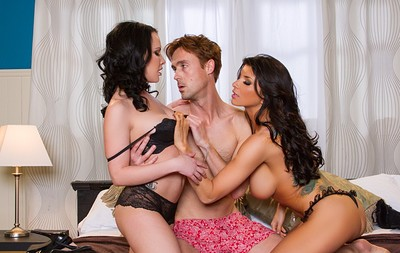 Katie St. Ives and Romi Rain in Fine Ass Brunettes 5 from Penthouse