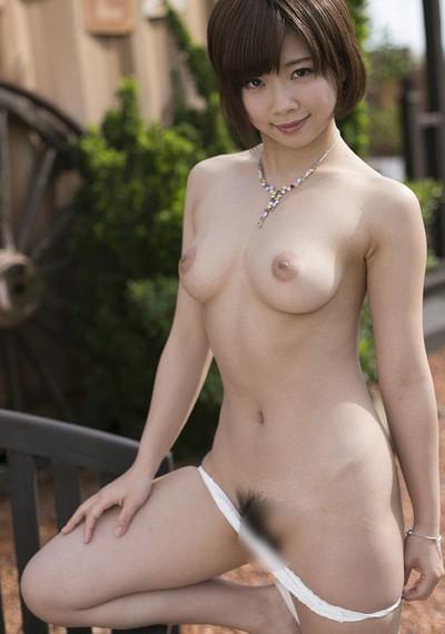 Makoto Sakura in Vanilla Lace from All Gravure