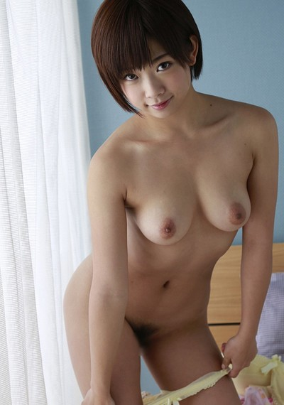 Sakura Mana in Behind The Curtain from All Gravure