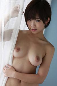 Adorable and playful angel Sakura Mana enchanting in Behind The Curtain