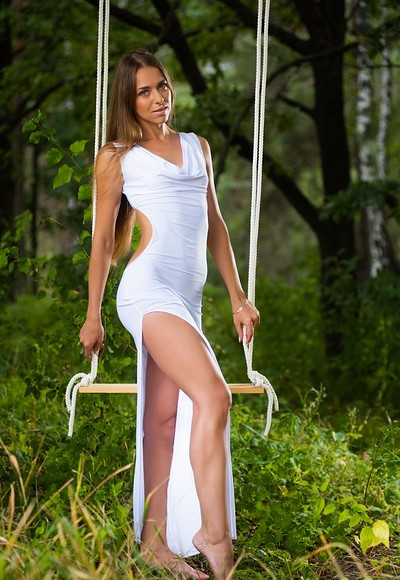Riana D in Nymph In The Wild from Femjoy