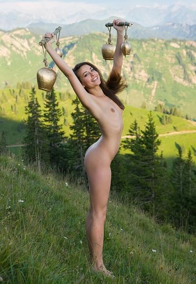 Lorena G in Alpine Sounds from Femjoy