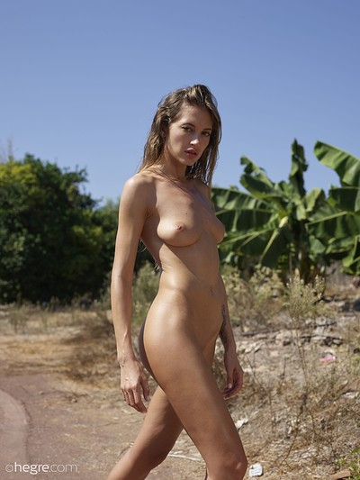 Taya in hot and naked from Hegre Art