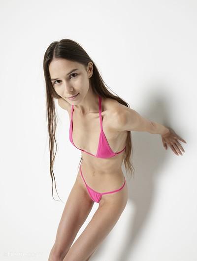 Leona in mini bikini from Hegre Art