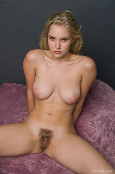 Liz Ashley in Busty and hairy from Morey Studio
