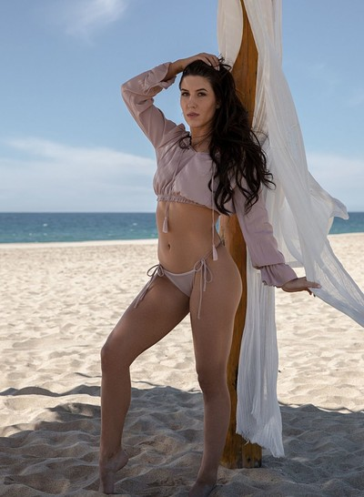 Carmen Nikole in Sizzling Sands from Playboy