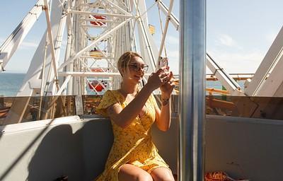 Gabbie Carter in Pier Confetti Pt 1 from Zishy