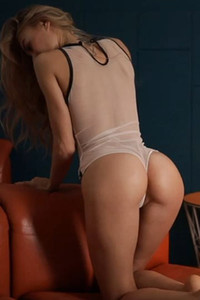 Her ass looks amazing while packed in this sexy lingerie but wait until she gets naked