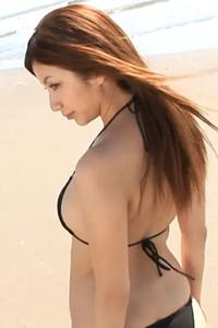 Adventurous and daring babe Ai Kawanaka shows off her stunning body in Pureself Scene 1