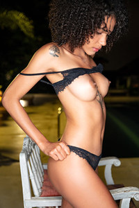 Abril in Curly And Hairy from Elite Babes