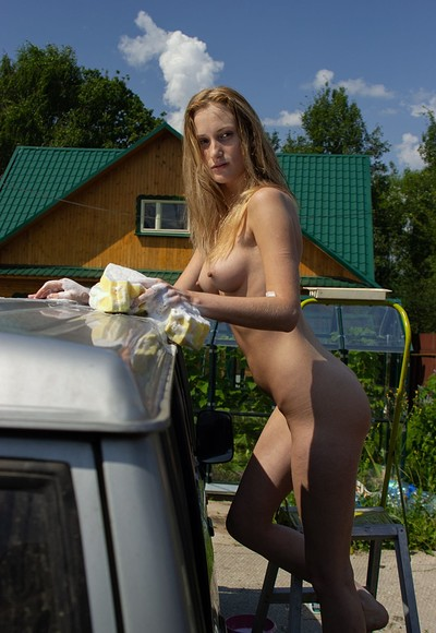 Leona in I am car washer from Stunning 18
