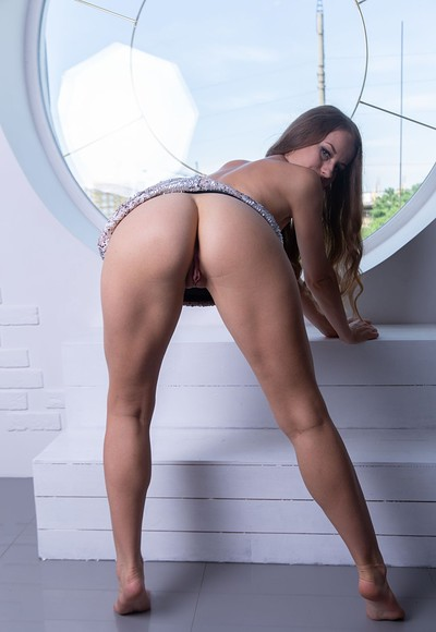 Julianna in Round window from Stunning 18
