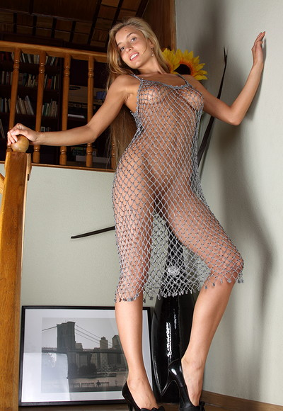 Constance in Fish in the net from Stunning 18