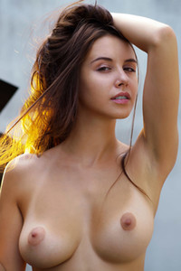 the Hungarian cutie looks simply irresistible without any clothes on her perfect body