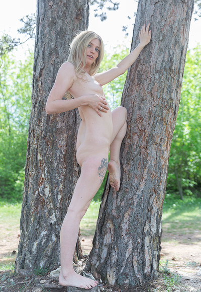 Varvara in Between two trees from Stunning 18