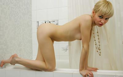 Cindy B in Bathroom from Stunning 18