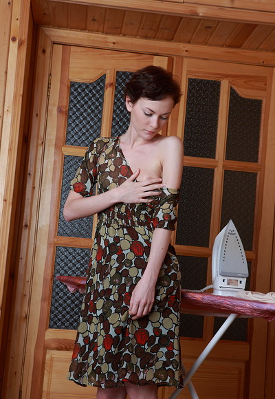 Stefania in Sexy Ironing from Stunning 18