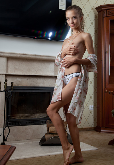 Alisabelle in Domestic Cat from Stunning 18