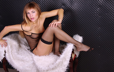Martina A in Hot Sexy Stockings from Stunning 18
