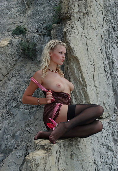 Elka in Seductive Stockings from Stunning 18