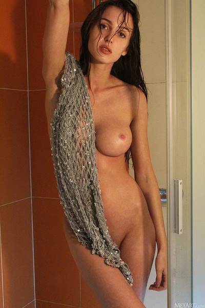 Holly Haim in Dripping from Metart