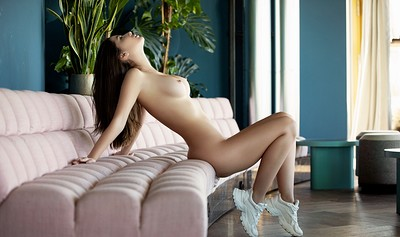 Marina Nelson in Modern Space from Playboy