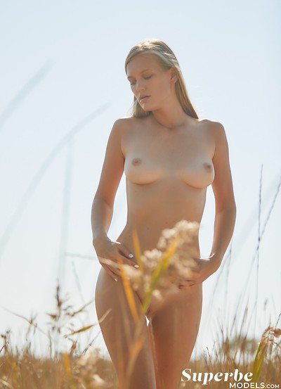 Dasha Elin in Field of Dreams from Superbe Models