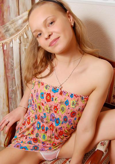 Bella D in Bella Hot Green Eyes from Stunning 18