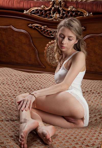 Goldie Y in Super Bed from Stunning 18