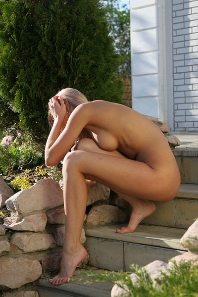 Elena M in My Garden from Erotic Beauty